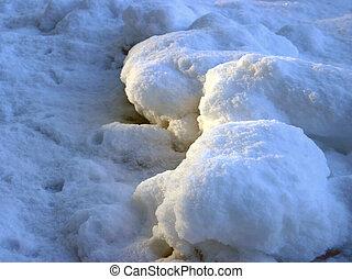 Snow surface 1