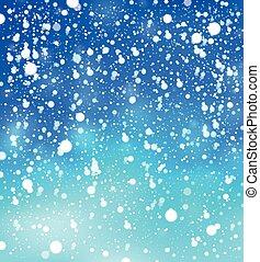 Snow theme background 1