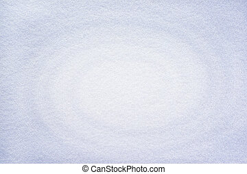 Snow white felt background