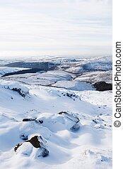 Snow winter countryside