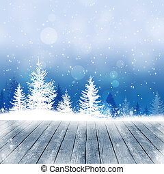 Snow Winter Time