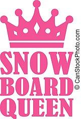 snowboard, 女王