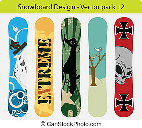 snowboard design pack 12