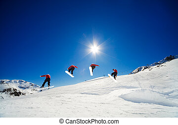 snowboard, reihenfolge