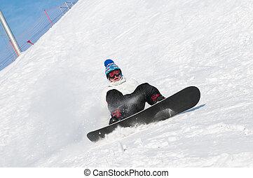 snowboard, sport, extrem