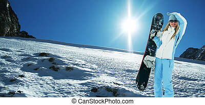 Snowboarder - The snowboarder