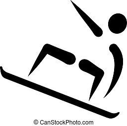 snowboarding, アイコン