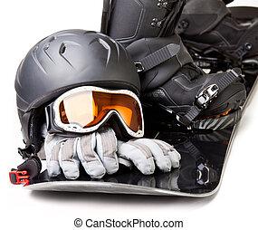 snowboarding, apparecchiatura