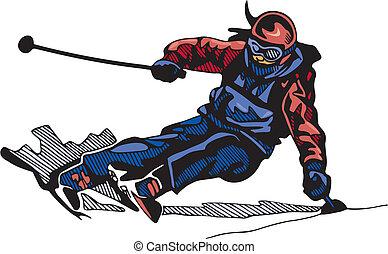 snowboarding, narciarstwo, &