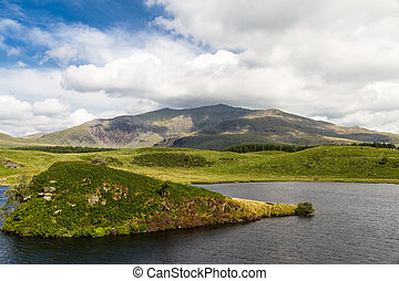 Snowdon from the west