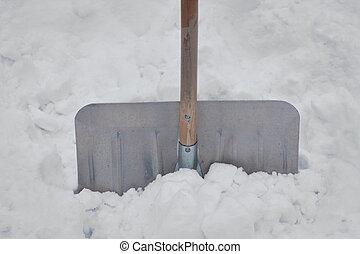 snowe, lapát
