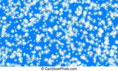 Snowfall animation