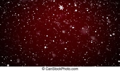 Snowfall, Christmas background