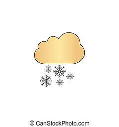 snowfall computer symbol