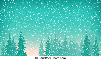 Snowfall, Snow Falls on the Spruce - Snow Falls on the...