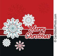 snowflake., クリスマス, 背景