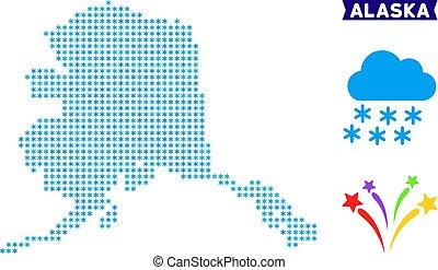Snowflake Alaska Map