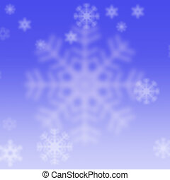 Snowflake Background.