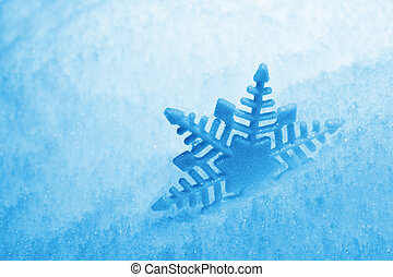 Snowflake - Background with snowflake