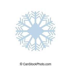 snowflake blanc, fond