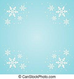 snowflake border 3011