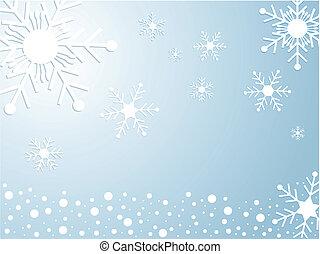snowflake, christmas background