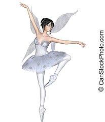 Snowflake Fairy Ballerina