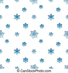 snowflake-gradient-blue-white-background
