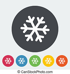 Snowflake icon.