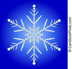 Snowflake jewelry - Elegant Snowflake made ??from diamonds ...