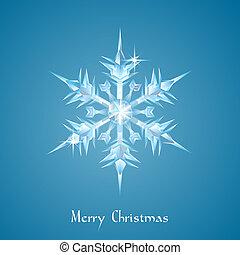 snowflake, natal, saudação