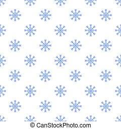 Snowflake pattern seamless