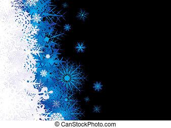 snowflake pile blue - Christmas snow flake inspired ...