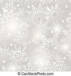 Snowflake seamless background. - Snowflake seamless...