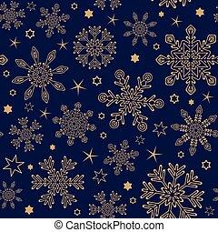 snowflake, seamless, padrão experiência