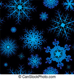 snowflake seamless square