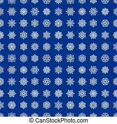 Snowflake season nature winter snow symbol frozen ice xmas element and christmas frost seamless pattern background vector illustration.
