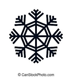 snowflake shape icon