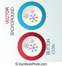 snowflake the weather icon