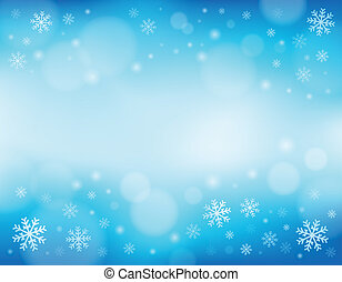 Snowflake theme background 1