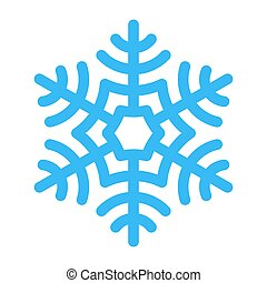 Snowflake vector illustration