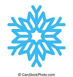 Snowflake vector illustration