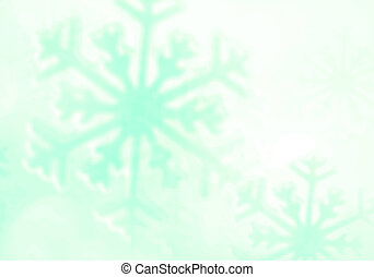 Snowflake. Winter holidays background.