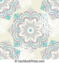 Snowflake winter pattern