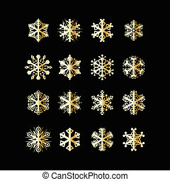 snowflakes, ícones