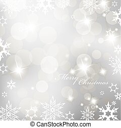 snowflakes., abstract, vector, achtergrond
