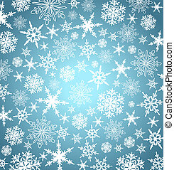snowflakes, achtergrond, -