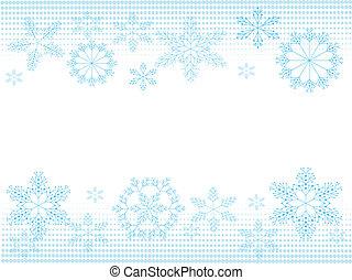snowflakes, achtergrond