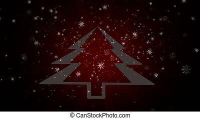 Snowflakes background Christmas