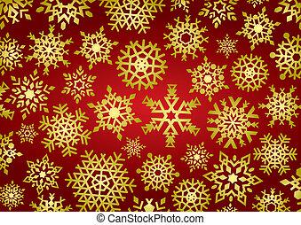 Snowflakes Background (illustration)